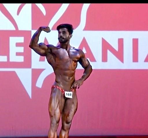 Bodybuilder Bharat Singh Walia is Mr Universe