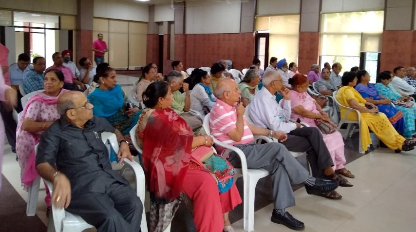 70 senior citizens attended talk on urinary incontinence