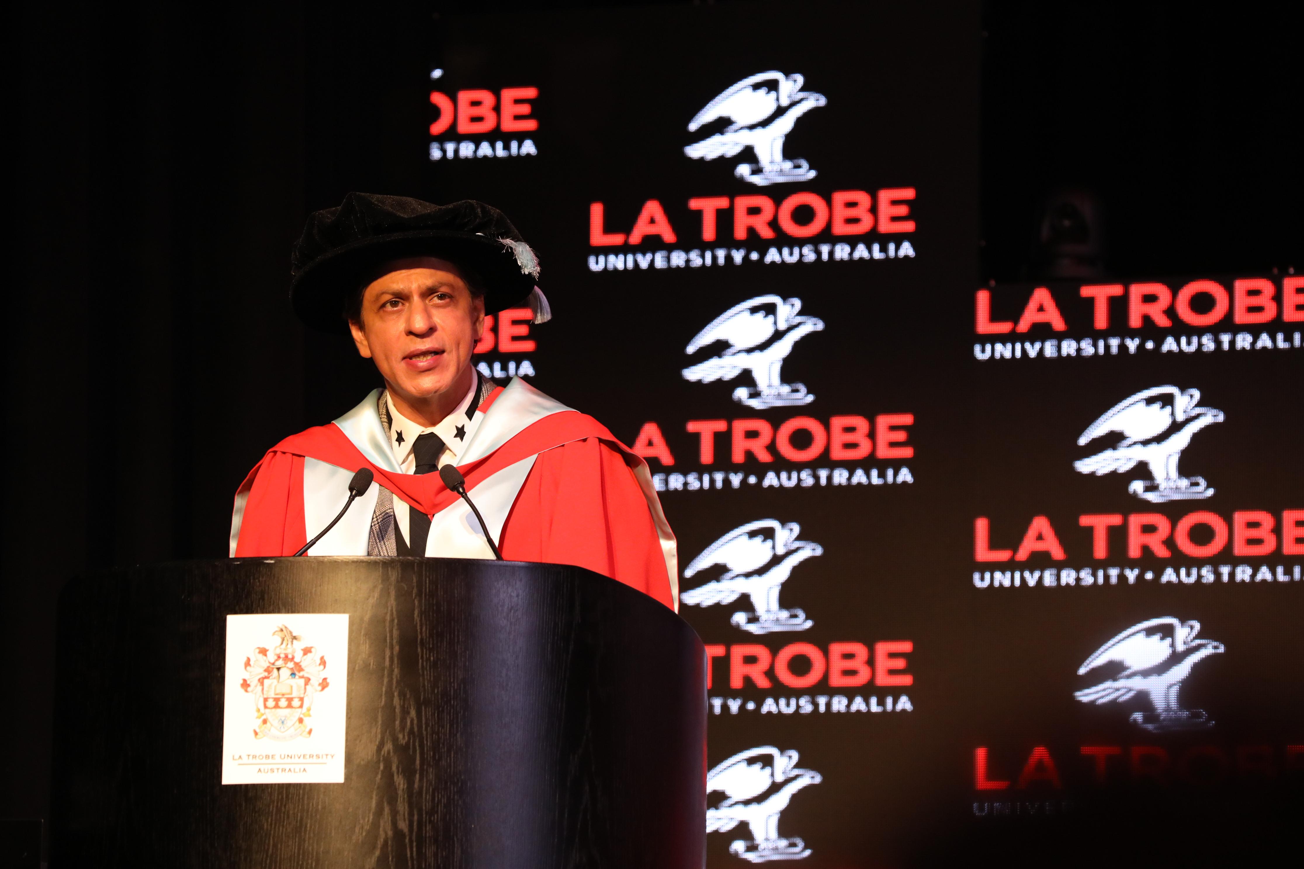 Shah Rukh Khan Scholarship at La Trobe University, Australia