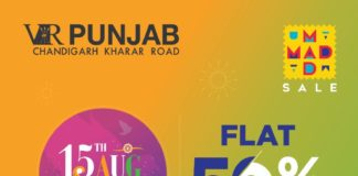 VR Punjab goes Flat 50% off just for two days