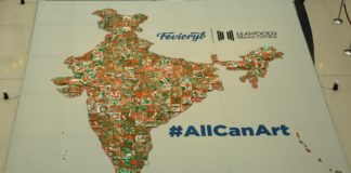 Fevicryl attempts to create Limca Book of Record for largest Indian map with mini