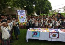 Fevicol A+ with NAB and school students to create Rakhis for the Army
