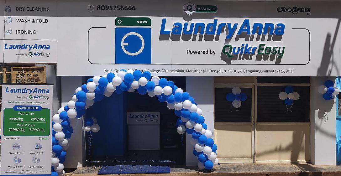 LaundryAnna and Quikr form Strategic Alliance