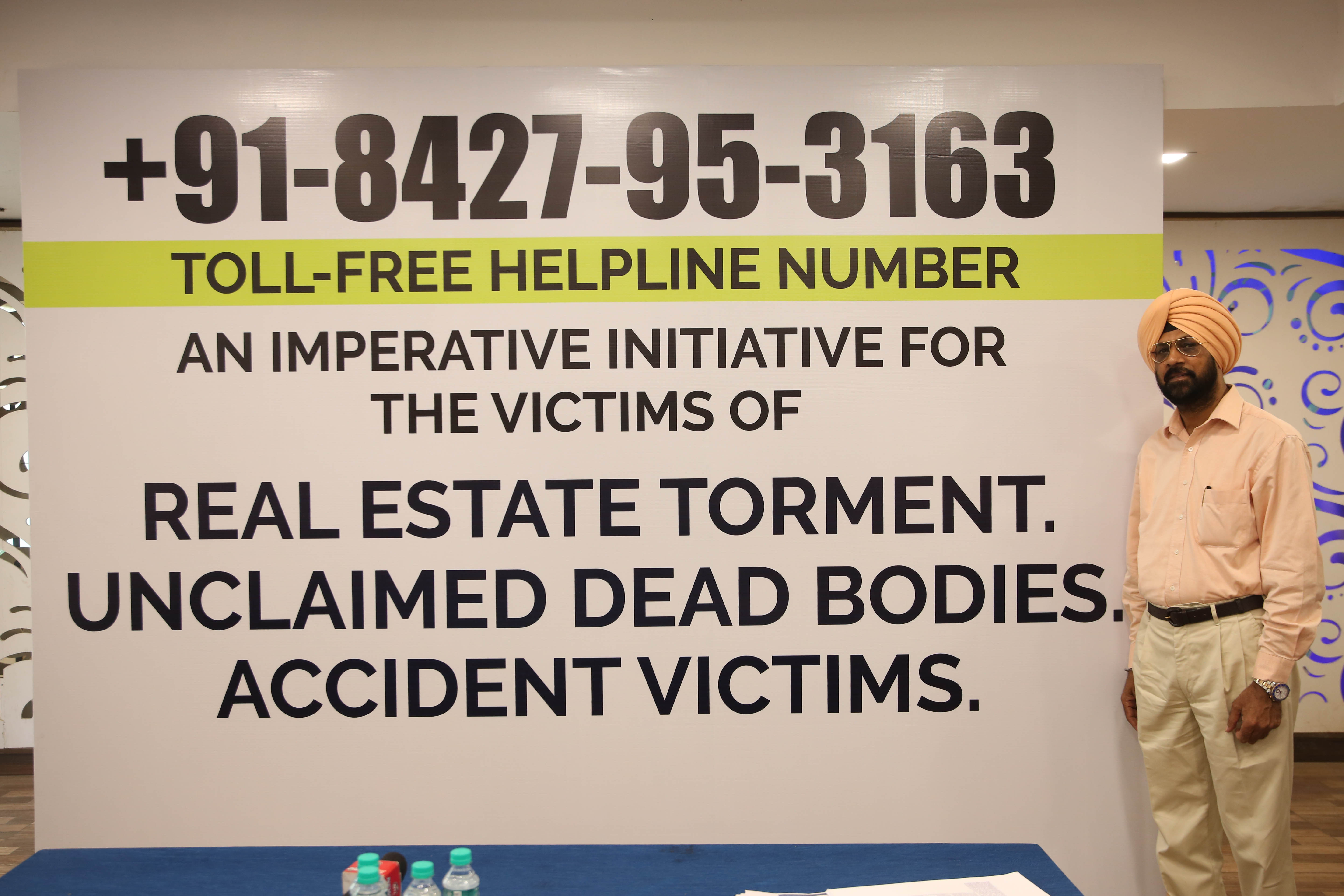 Toll-free helpline number, an imperative initiative for the victims of Real Estate torment