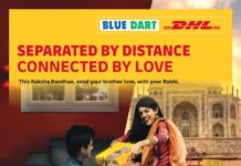 Blue Dart bringssiblings together for Raksha Bandhan with 'Rakhi Express'