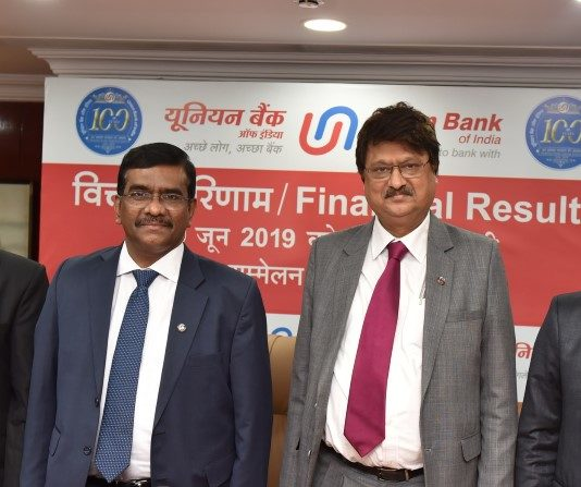 Union Bank of India Announces Q1FY 20 Results