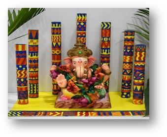 Brighten this Ganesh Chaturthi with colorful&eco friendly Do-it-yourself recipes