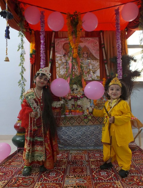 Janmashthmi celebrated at Wizdome Pre School