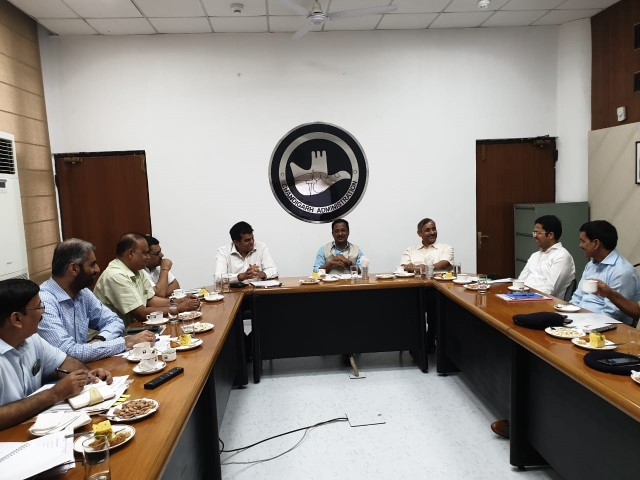 Meeting regarding issues related Inter- State Smuggling of liquor held