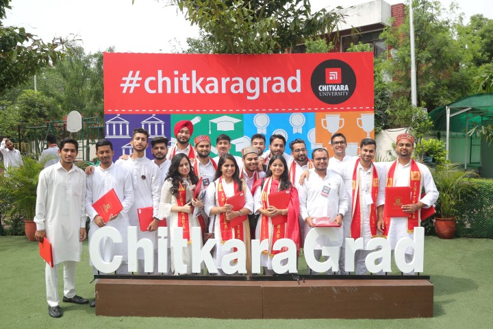 Convocation gowns&hats give way to Indian traditional attire in Chitkara University