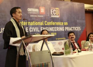 Sustainable Civil Engineering Practices organized by Chitkara University
