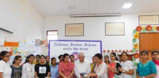 Dev Samaj College of Education holds 'book donation' event