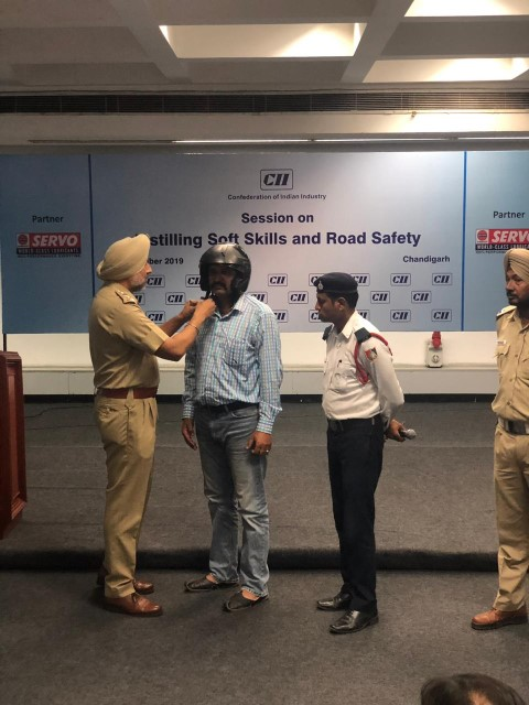 Session on Instilling Soft Skills and Road Safety organized at CII Chandigarh