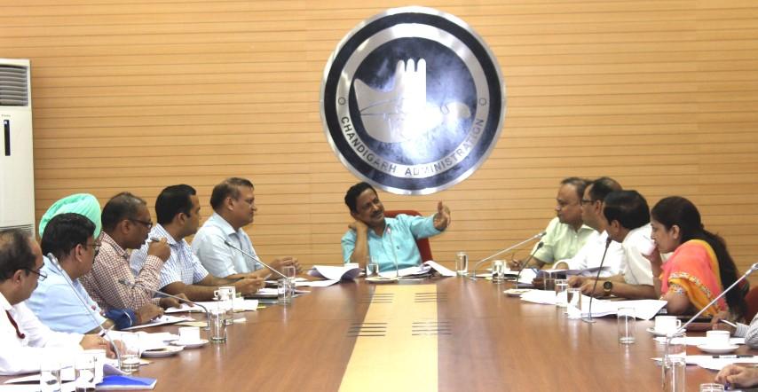 Adviser holds meeting to make Chandigarh Plastic Free
