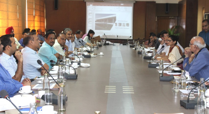 Adviser holds 15th meeting of Chandigarh Heritage Conservation Committee