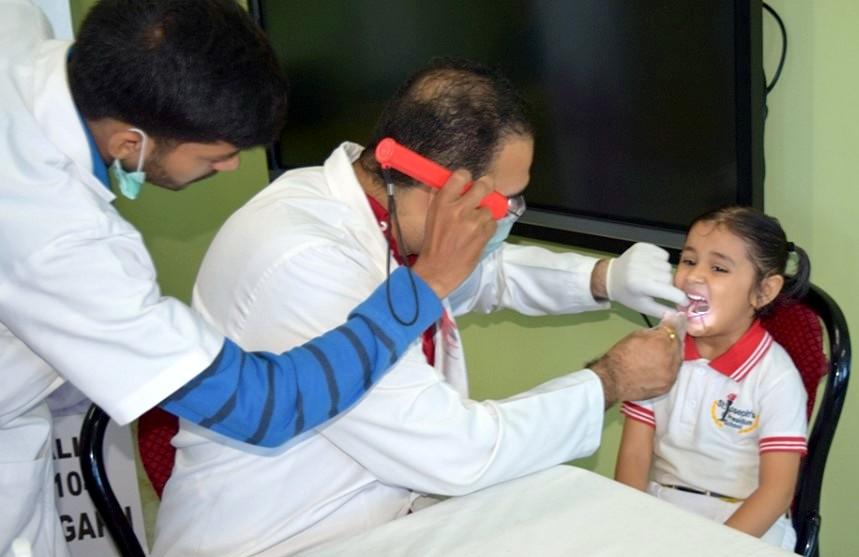 Kids 'R' Kids School organised Dental Check-up