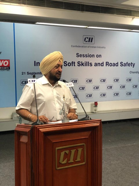 Session on Instilling Soft Skills and Road Safety