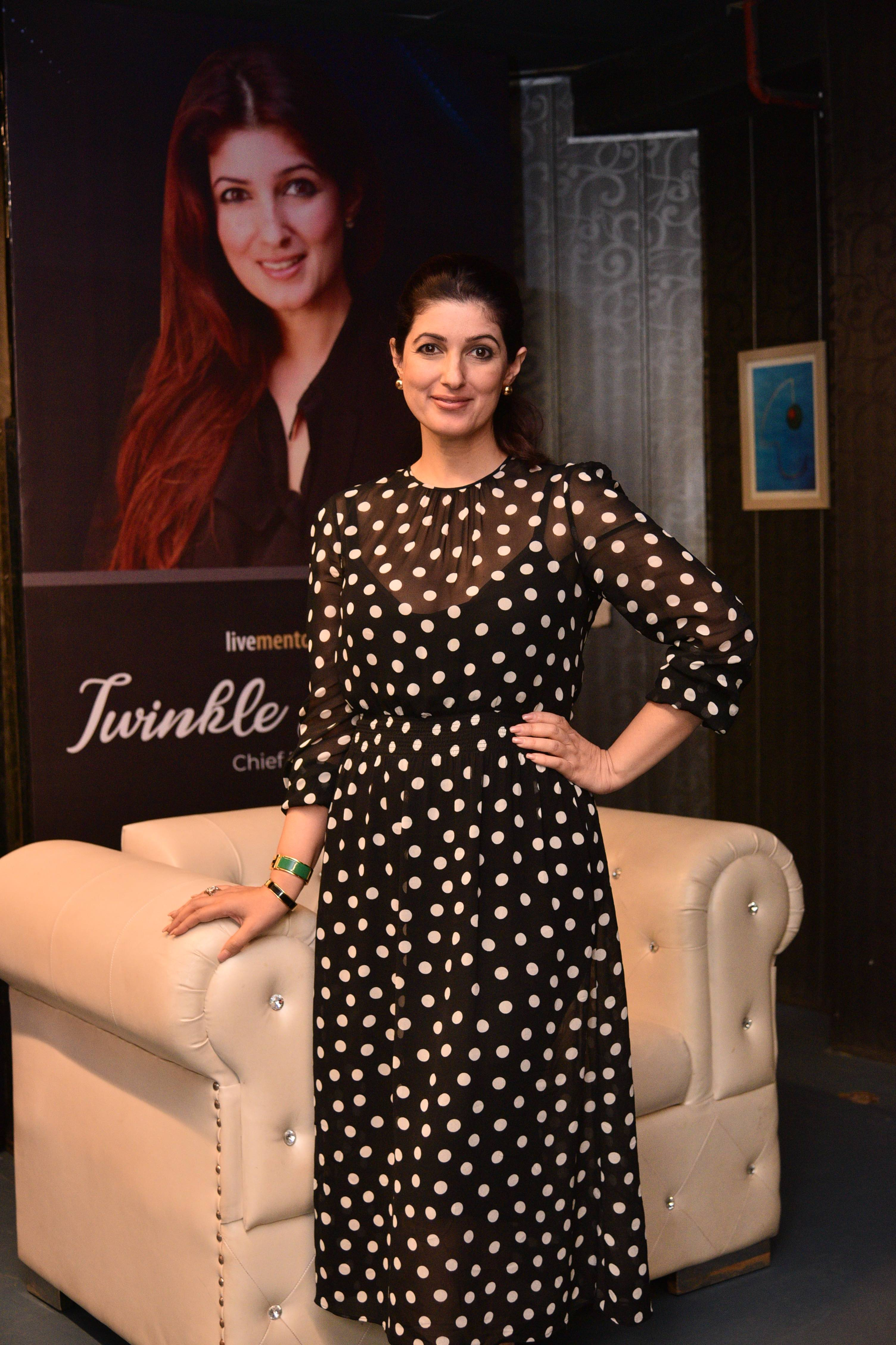INIFD Academy of Interiors Chief MentorTwinkleKhanna conducts Mentor Class