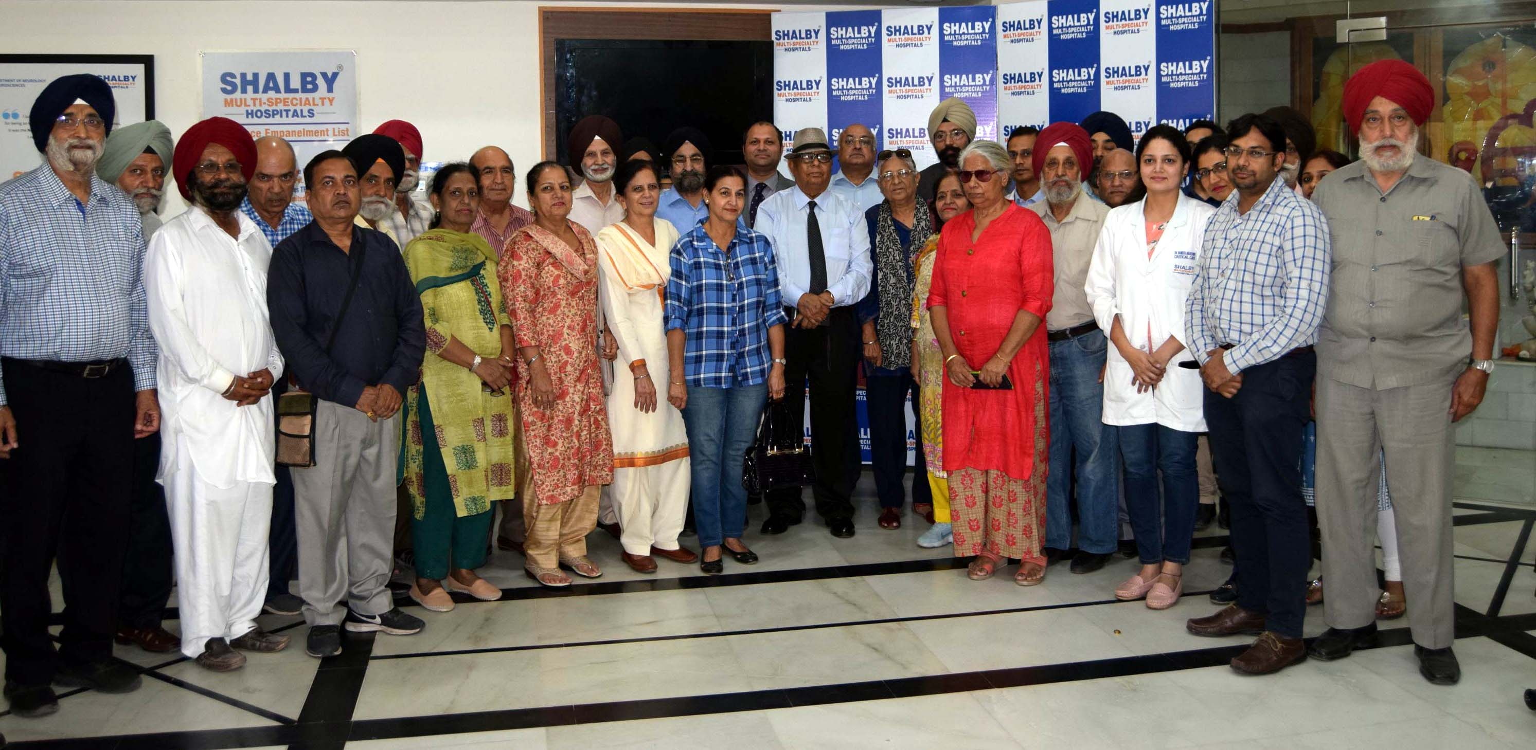 50 senior citizens attend 'meet your doctors' program