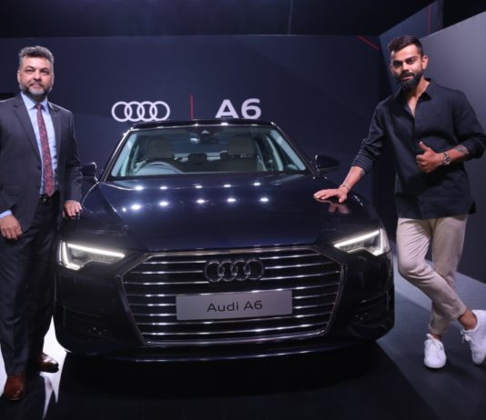 Audi India drives in the New Audi A6