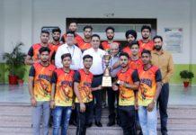 CGC Jhanjeri Wins IKG PTU's Kabaddi Championship