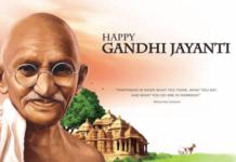 Gandhi Jayanti 2nd October Images
