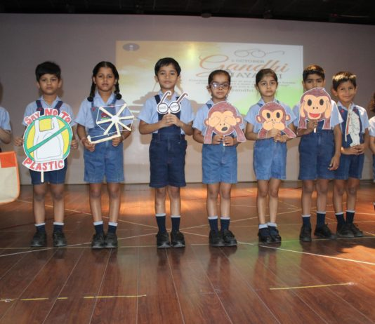 Gandhi Jayanti Celebrations at RIMT World School