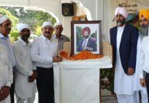 Manpreet Badal pays tribute to Brigadier Kuldip Singh Chandpuri
