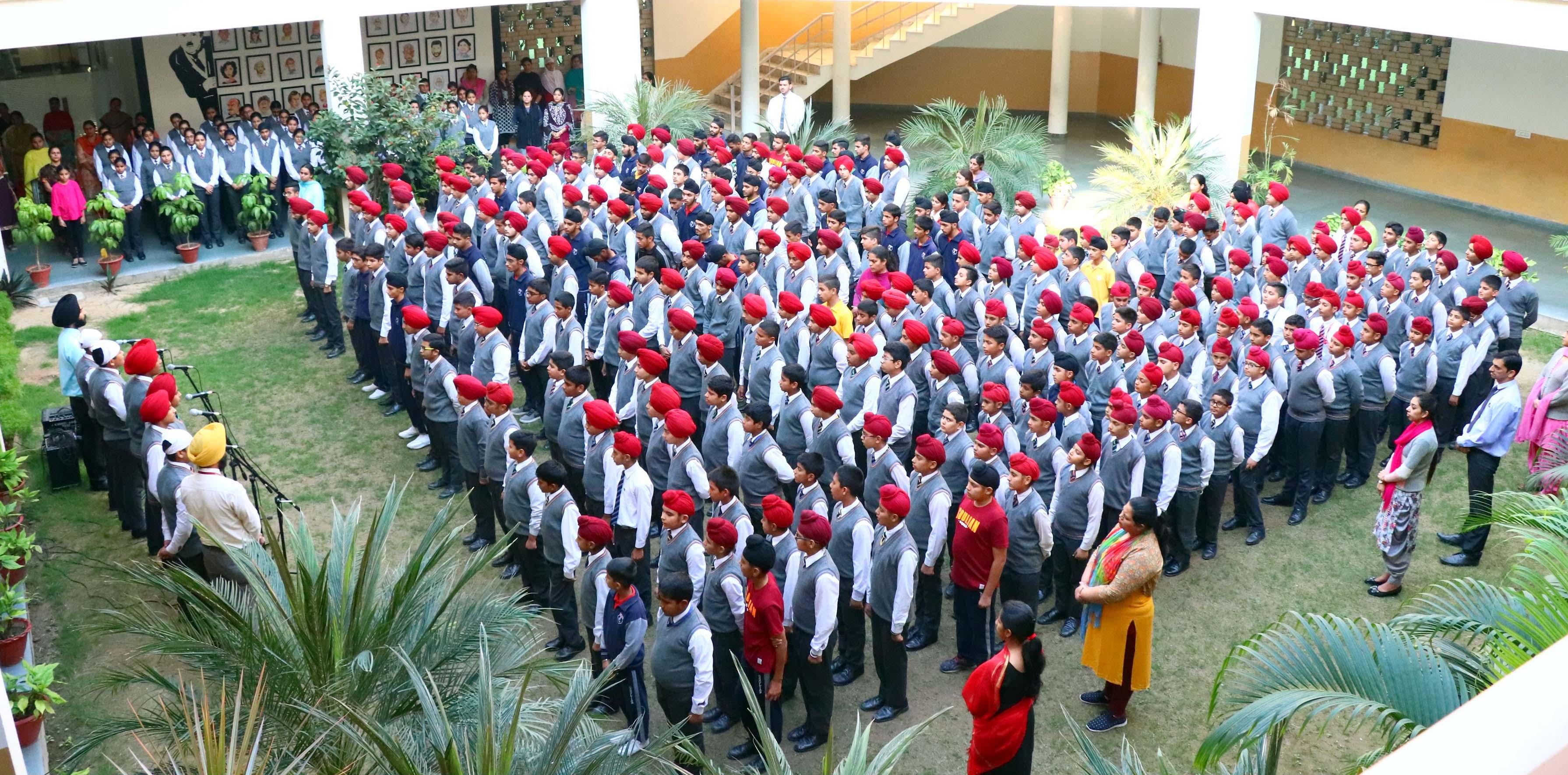 Gurpurab Celebration at Sacred Souls' School