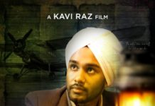 Kavi Raz's upcoming film 'SARABHA -Cry for Freedom""