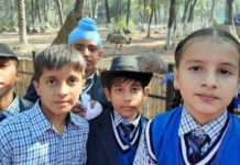 Wild life protection day celebrated at Indus Public School