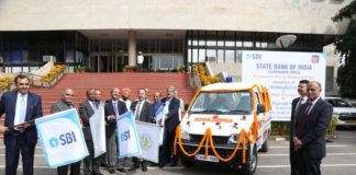 SBI Chairman inaugurated new Administrative Office building at Mohali