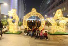 Santa Claus brings cheer at Elante's Christmas Carnival Bazar
