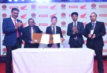 Honda 2Wheelers India join hands with Indian Oil Corporation Limited