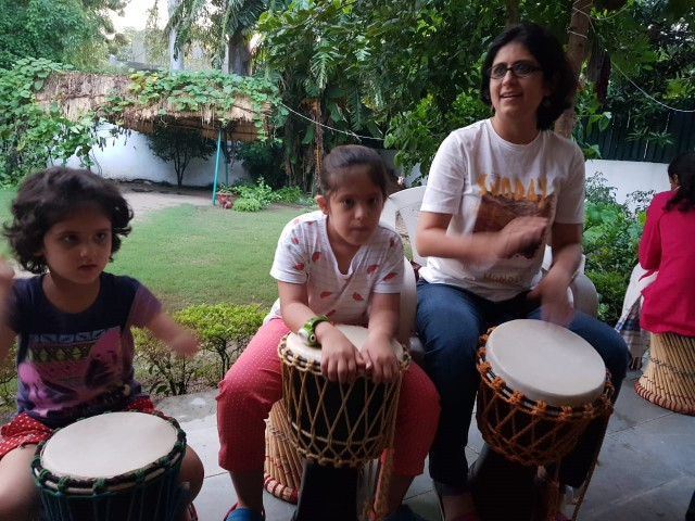 World Disability Day : Drum Circle held