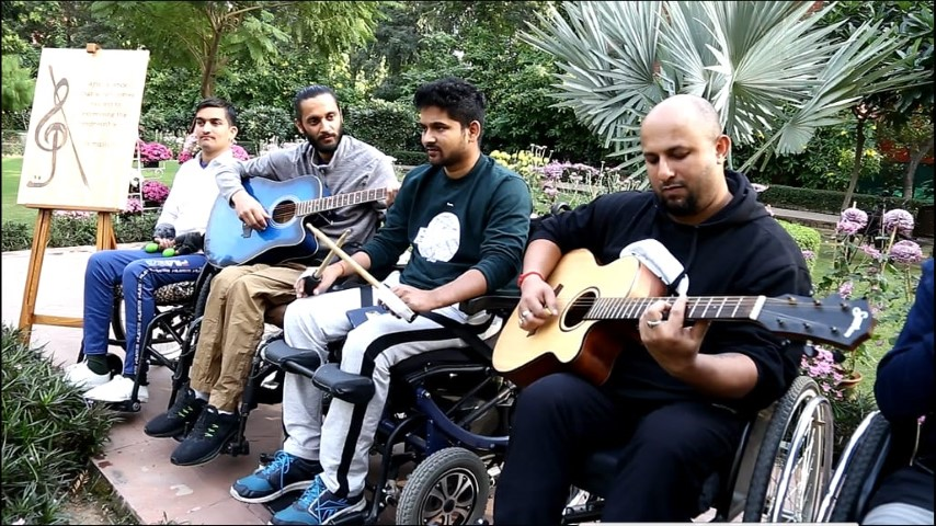 "World Disability Day with ""Djimbe Drums"" and ""Musicians"