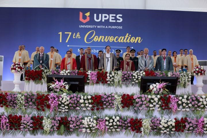 Shri M. Venkaiah Naidu commends UPES