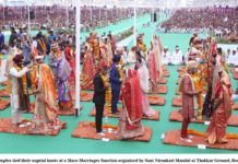 73 Couples Merry at Nirankari Mass Wedding Function