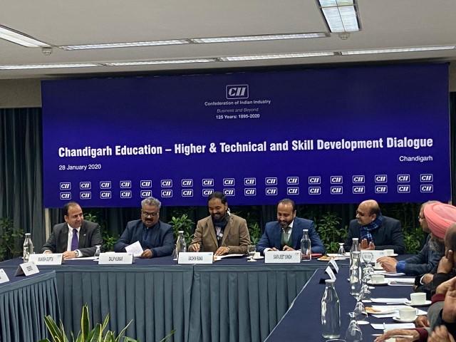 CII ,Chandigarh Education&Skill Development Dialogue 2020