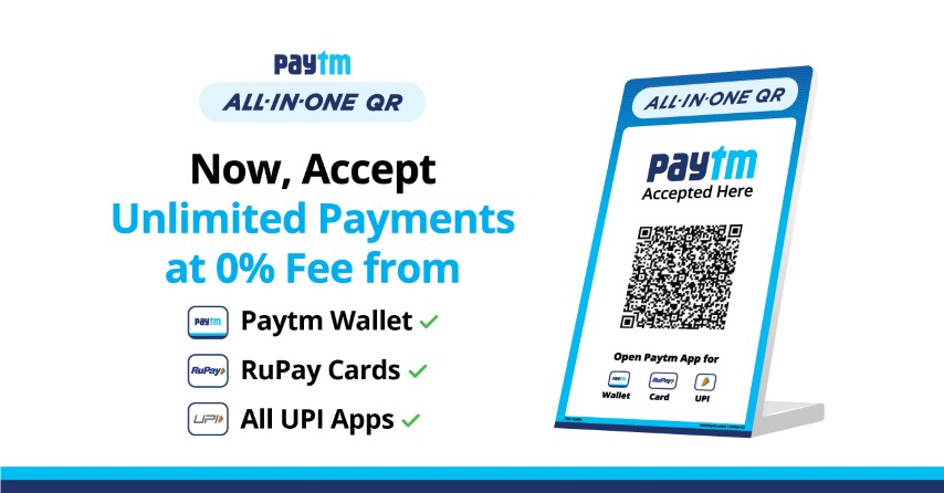 All-in-One Paytm QR