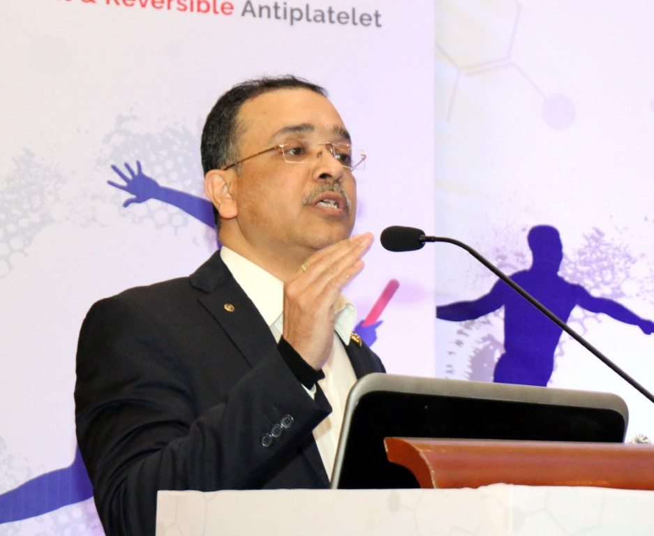 100 docs attend conf on 'oral anti-platelet therapy' in city