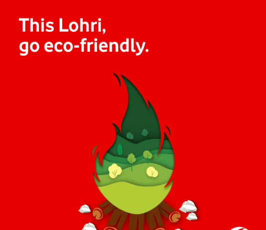 Celebrate an Eco-Friendly Lohri with Vodafone