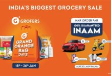 Grofers- Eng- Shoppers are winning big during the ongoing Grofers Grand Orange Bag Days