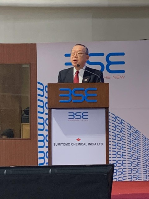 Sumitomo Chemical India , BSE & NSE