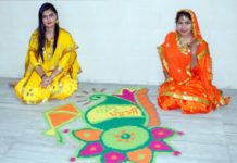 Basant Celebrated at Chandigarh Group of Colleges, Jhanjeri