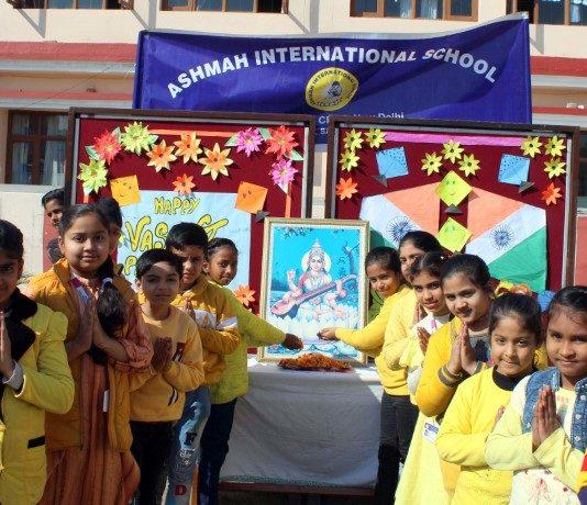 Basant Pachmi Celebrated at Ashmah International School