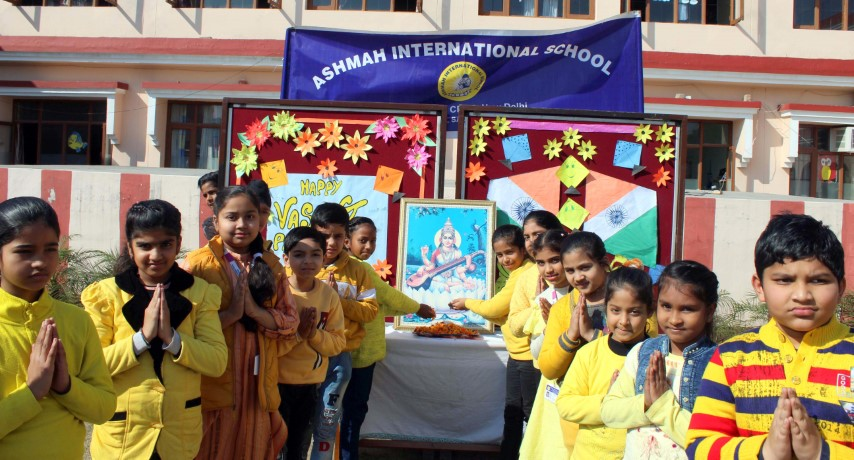 Basant Pachmi Celebrated at Ashmah International School