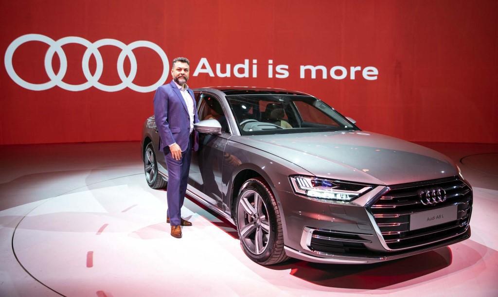 Audi A8 L arrives in India