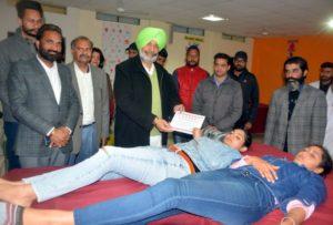 Rattan ,Blood Donation Camp