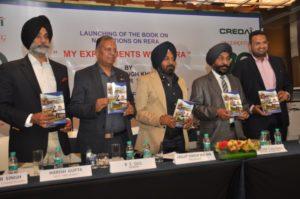 RERA Punjab Jagdish Khushdil's book 'My Experiment With RERA'
